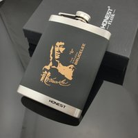 bc wine - Honest BC OZ SQ C Bruce Lee matte stainless steel flagon flagon