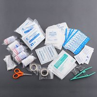 Wholesale Professional New Portable Survival Medical First Aid Kit Emergency Travel Essential Camping Hot