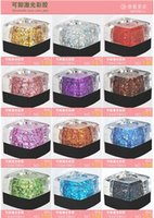 nail art glitter - Nail Art tool Gel nail polish Removable glue phototherapy plastic color light therapy gel nail glue diamond glitter gel