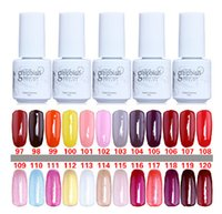 Wholesale Fashion Gelish Nail Polish UV Gel Soak Off Gel Polish Nail Lacquer Varnish Brand New Top Quality Long lasting Colors Color ml DHL