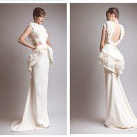 Cheap zuhair murad bridal gowns Best winter wedding dresses