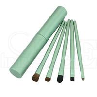 best makeup green eyes - Professional Pony Hair Eyeshadow Brushes Set Eye Makeup Tool Cosmetic Cosmetic Makeup Brushes Kit Best Quality