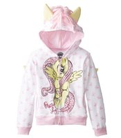 animal jackets - new outerwear My little pony Sweater hoodies sportswear boys girls Cartoon Hooded coat clothes hoody jacket styles