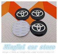 Wholesale mm Toyota car styling wheel center cap decals exterior Auto accessories D sticker