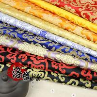 brocade fabric - Ancient Chinese Clothing Hanfu Baby Clothes Kimono Silk Cloth Advanced Fabric Brocade Rich flowers Series