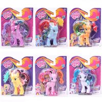 Wholesale My little pony set PVC toys doll cartoon Movie Character Action Figures hand to do toys Doll Toy for kids gift