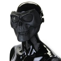 Wholesale IMC Full Face Protect Mask Scary Skull Skeleton Paintball Hunting order lt no track