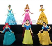 Wholesale PRINCESS CAKE TOPPERS SET OF CINDERELLA SNOW WHITE BELLE quot LC
