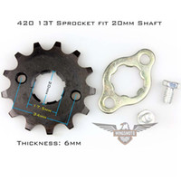 atv online - Brand New Motorcycle ATV Dirtbike Front Sprocket T mm Size Teeth hours online