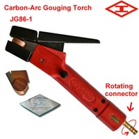 Spot arc air gouging torch - Shanghai Welding Cutting Tools JG86 Jaw type Air Carbon Arc Gouging torch suit for all diameters Carbon rod kryptol