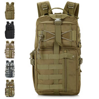 Wholesale Outdoor Military Tactical Assault Backpack Attack Backpack Brand MOLLE Hiking Bag Out Bag Survival SWAT Police Carry