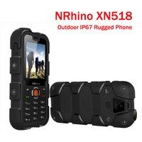 quadband tv phone - NRhino XN518 GSM Quadband Dual Sim Qwerty Keyboard Bright Torch FM TV Bluetooth Outdoor IP67 Rugged Waterproof Mobile Phone