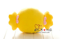 baby hand pillow - Hot Sale Nap pillow Sweet Candy Pillow Plush Warm Hand Pillow Baby Toy Birthday Gift Anime Plush
