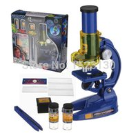 Wholesale Educational Science Toys Kid CHILDRENS Junior Laboratory Lab Microscope Game Fun