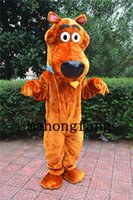 Wholesale NEW Scooby Doo Dog Mascot Costume Mascotte Fancy Dress Party Cartoon Costume Factory Direct