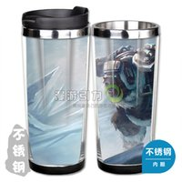 arctic coffee - LOL Volibear Arctic Storm Skin stainless steel coffee cup water cup