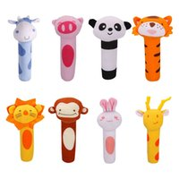 Wholesale 8 Style Family Finger Puppets Cloth Doll Baby Educational Hand Cartoon Animal Toy Hot sale