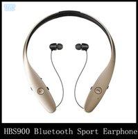 Deporte auriculares DHL HBS900 HBS-900 Bluetooth Wireless Headset Auricular Música estéreo en la oreja los auriculares para Iphone Samsung huawei meizu