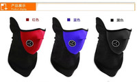 Wholesale New arrival hot sale Adult Beanie Hats Cap Half Face Ski Mask Winter Veil Bicycle Cycling snowboard Sport Masks Pollution