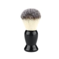 appliance handles - New Superfine Shaving Brush Pure Blaireau Shaving Beard Brush Man Face Cleaner Cleaning Appliance Black Handle
