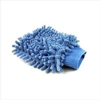 Wholesale Car Home ultra soft chenille glove car wash clean wash mitt Cleaning gloves