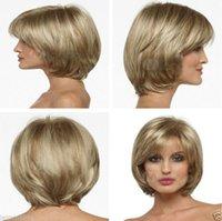 Women s short wigs Avis-Perruque de cheveux de perruque de cheveux de perruque