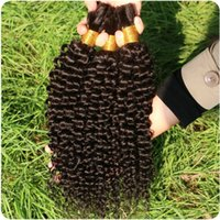 virgin hair bulk - 100 unprocessed inches phoenix hair products cheap brazilian curly virgin bulk hair for braiding