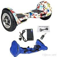 and bag - 10 inch Smart Self Balance Electric Scooters Two Wheel Self Balancing Unicycle Wheelbarrow With Bluetooth Key And Bag hovertrax airwheel