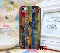 hard cover book - ETFC137 harry potter all books New Fashion Design Hard Black Skin for iPhone s g Case Cover