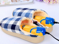 Wholesale Hot Cartoon Minions Shape shoes Dryer Electrical Thermostat Boots Drier Heater with the function of Sterilize and Deodorize