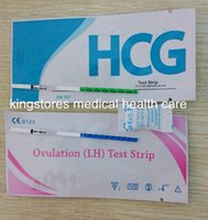 Wholesale High Quality mIU ml Home Pregnancy Test Ovulation Test Strips Quick Result with