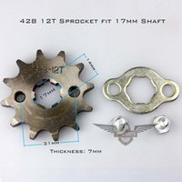 Wholesale High Quality Motorcycle ATV Dirtbike Front Sprocket T mm Size Teeth
