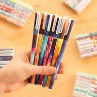 Wholesale Hot Sale Fashion Design Pack mm Gel Pen School Office Stationery Canetas escolar Papelaria