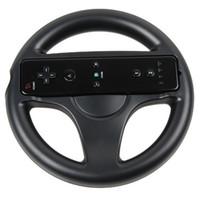 Wholesale Black Mario Kart Racing Games Steering Wheel for Nintendo Wii Remote Controller