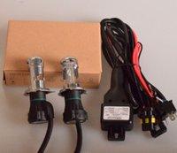 achat en gros de voiture h4 cacha-35W H4 de 2X H4-3 Bi Xenon HID au xénon bixenon DC Pour phare de voiture de remplacement des lampes lumière de l'ampoule H4 bi-xénon Salut / Lo faisceau 4.3k 6k 8K