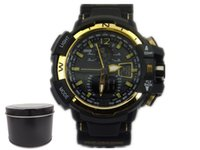 black gift boxes - GA1100 G box relogio men s sports watches LED chronograph wristwatch military watch digital watch good gift for men boy dropship