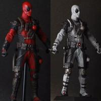 batman figurines - Anime Figurine Crazy Toys Superhero X Men Deadpool PVC Action Figure Model Toy quot cm