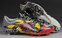 Men venom - 2015 Tottoo Love Hate Messi Soccer Shoes Men Cheap Ball Sports Boots Brand Yamamoto TPU Football Cleats Hyper Venom Athletic Boot Dropship