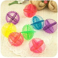 Wholesale New Home Wash Magic Antiwind Washing Balls Soft Cleaning Ball Clothes Protect Launtry Machine Useful Tools