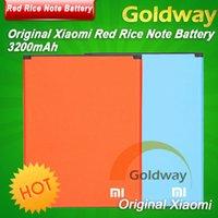 al por mayor billete de polímero-Original Xiaomi Red Rice Nota de la batería del polímero de Li batería del teléfono 3200mAh batería del teléfono Para Mi Nota Li batería Para Red Mi Nota