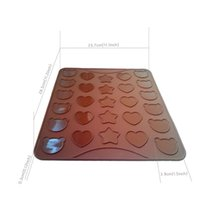 Wholesale Free Winnie the love star macarons silicone pad environmental protection non slip silicone waterproof heat