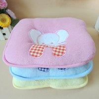 Wholesale Baby Pillow Newborn Towelling Elephant Cartoon Pillows Kids