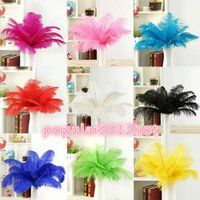 Wholesale Wedding party supply Ostrich Feather Plume wedding centerpieces table decoration many size to choose