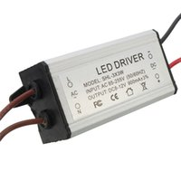 Wholesale 12V W AC DC Voltage Transformer Tube Light Waterproof LED Driver mA Power High Quality