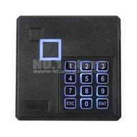 Wholesale Black Waterproof KHz ID Card EM4100 Reader Wiegand Access Control Keypad RFID Reader A