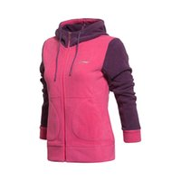 Wholesale lining sports hoodie for women