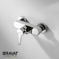 shower mixer - Single Handle Wall Mounted Shower Mixer Brass Body Zinc shower mixer handle