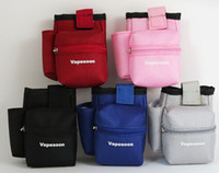 Wholesale E cigarette Vapor Pocket E Cig Case Double Deck Vapor bag vape mod carrying case for Sigelei IPV Smok Eleaf Cloupor Box Mod