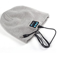 active amplifier - Hot Sale Bluetooth Music Beanies Winter Hat With Mini Wireless Speaker Bluetooth Receiver Amplifier Audio Music Speaker Smart Cap Headset