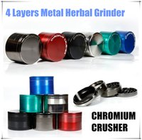 best cnc - BEST Chromium Crusher Herbal Grinder Layers Large CNC Metal Tobacco Dry Herb Grinders Smoke Cracker Crusher